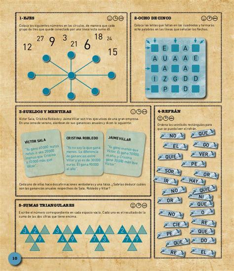libro 1001 juegos de inteligencia 1001 juegos mentales angels navarro