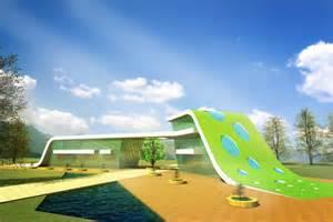 Hunter Douglas Vertical Blinds Parts Unique Green Architecture Concept With Green Modern Public