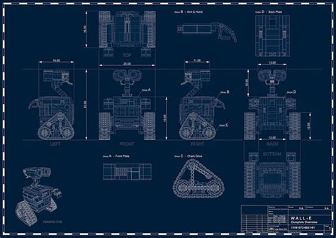 wall blueprints wall e blueprint flickr photo sharing