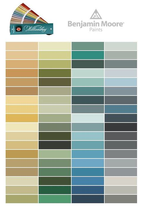 1000 images about williamsburg paint colors by benjamin on paint colors