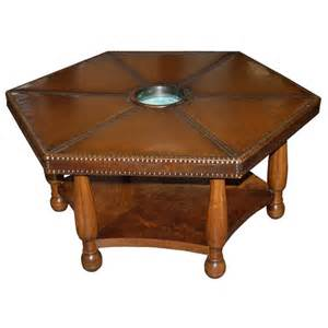 Hexagon Coffee Table A 1930 S Hexagonal Coffee Table By Otto Shultz At 1stdibs