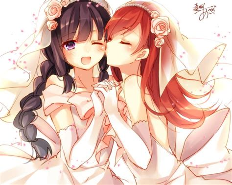 girl yuri anime love couples 39 best images about yuri on pinterest