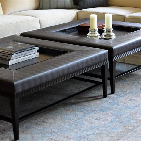 trays for ottoman large tray for ottoman coffee table best home design 2018