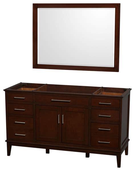 wyndham collection hatton 60 quot chestnut single