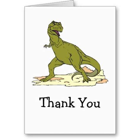 Dinosaur Birthday Thank You Cards