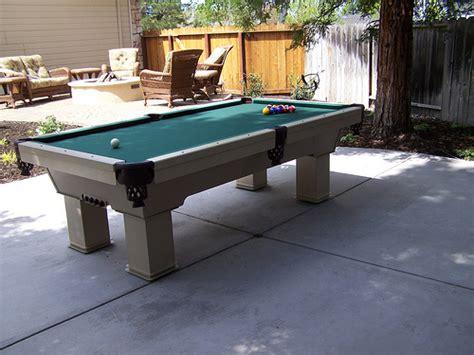 backyard pool table backyard outdoor billiard table area