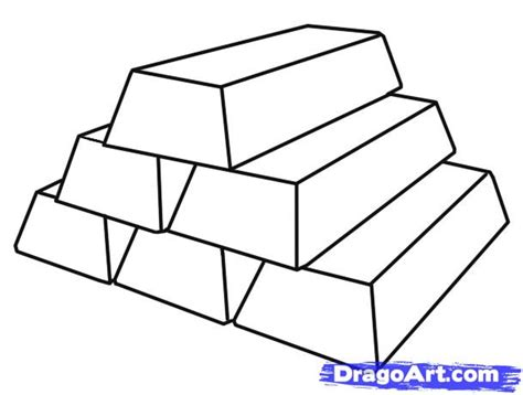 How To Draw Gold Step By Step Stuff Pop Culture Free Gold Coloring Pages