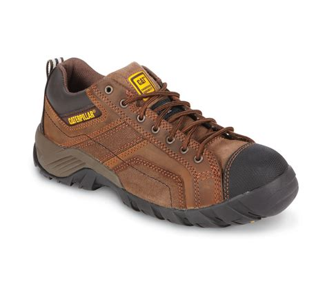 Caterpillar Shell Oxford Brown Safety Boot cat footwear s argon composite toe eh work oxford