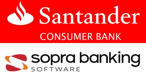 santander consumer bank bankdaten santander consumer bank in belgium runs through a sopra