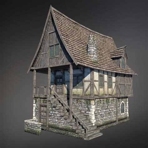 fantasy houses 3dsmax fantasy medieval house medieval architecture pinterest medieval house and medieval