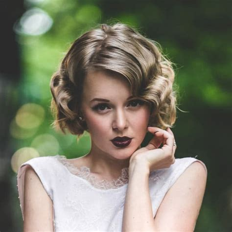 hairstyles 1920 s era mid length prom and wedding hairstyles for medium hair 2015