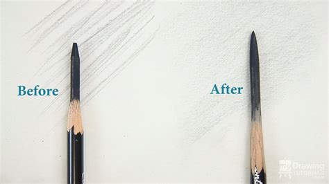 Drawing Pencils by Basic Drawing Technique How To Sharpen A Drawing Pencil