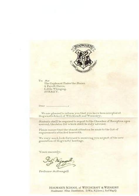hogwarts brief vorlage englisch harry potter 1 der brief dvd hogwarts