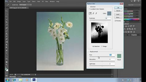 color replacement tool  photoshop cs youtube