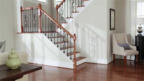 Staircase Design Inside Home by Srs Knee Wall Installation Youtube