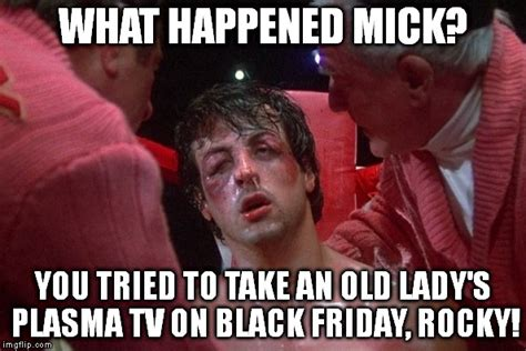Rocky Meme - black friday imgflip