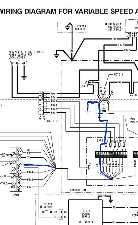 heat air handler diagram wiring diagram with