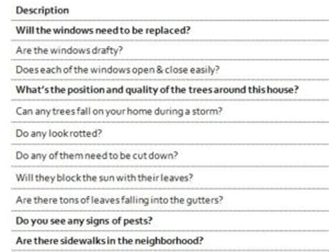 questions to ask when buying a house checklist 32 questions you must ask before buying a new house