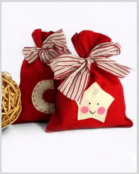 top 10 diy christmas gift bags top inspired