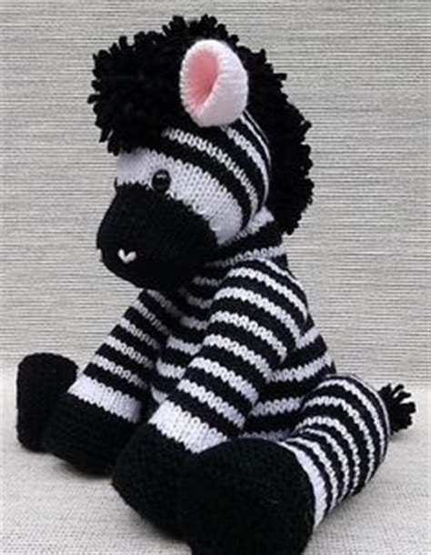 free knitting pattern zebra toy 1000 images about knit crochet dolls toys on pinterest