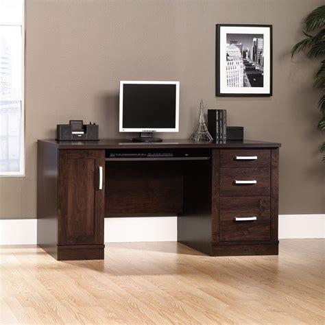 Saunders Computer Desk Sauder Office Port Credenza Alder Computer Desk Ebay