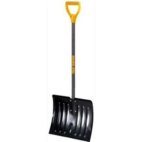 true temper 18 in steel snow shovel 1640700 the home depot