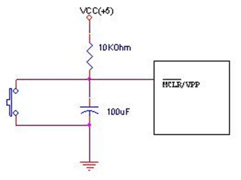 capacitor reset circuit capacitor in reset circuit 28 images generate reset signal to be input in ic at power on