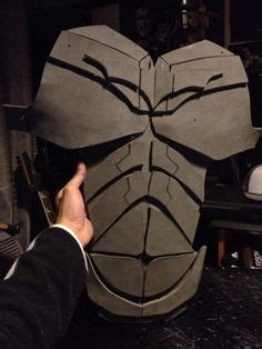 Batman Dark Knight Chest Armor Diy Cardboard With Template Batman Dark Diy Cardboard And Foam Armour Templates