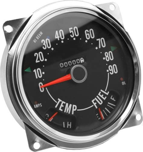 Jeep Speedometer Crown Automotive 914845 Speedometer Cluster 0 90 Mph