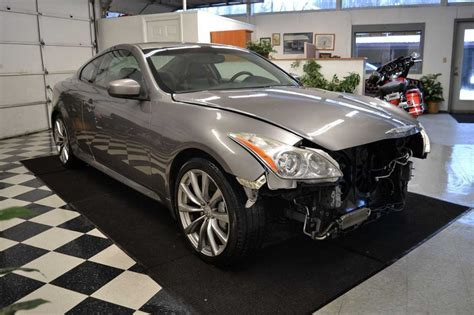 infiniti g37 coupe 2008 for sale 2008 infiniti g37 s coupe damaged wrecked for sale