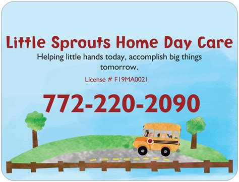 sprouts home day care stuart fl licensed home