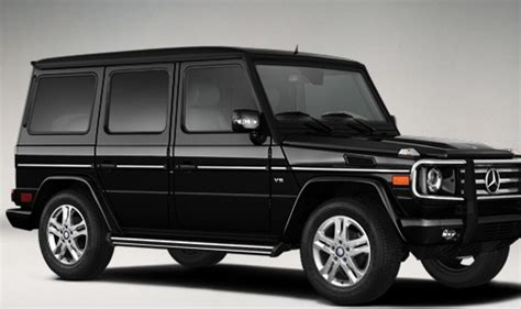 mercedes jeep black all black mercedes benz suv g550 starting at 113 000