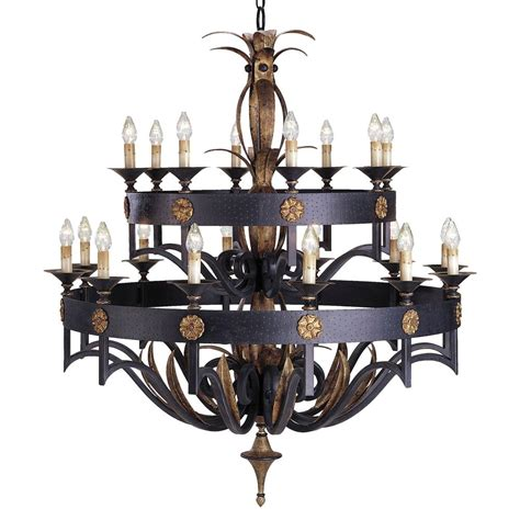 Steel Chandelier Ridley Masculine Steel 2 Tier 20 Light Chandelier Kathy Kuo Home