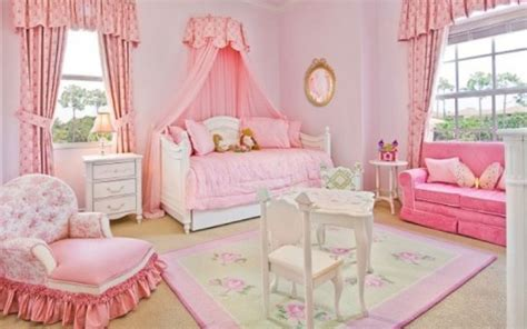 simple pink bedroom for beautiful girl on lovekidszone