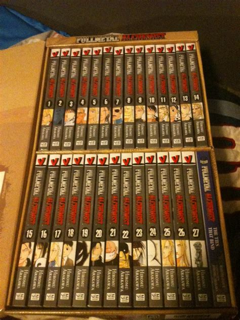 fullmetal alchemist box set just got the entire fullmetal alchemist box set 27