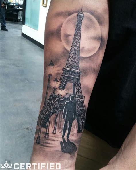 eiffel tower tattoo eiffel tower by bryan alfaro follow bryan s work