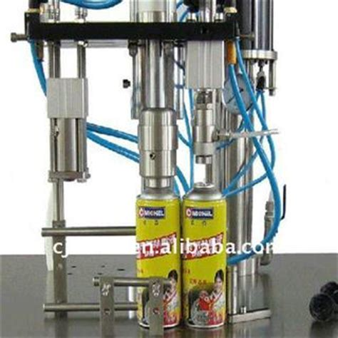spray painting machine manufacturer cjxh series aerosol spray filling machine for auto care