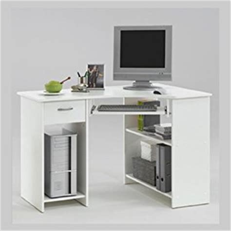 Home Office White Corner Computer Desk Felix Amazon Co White Corner Desk Uk