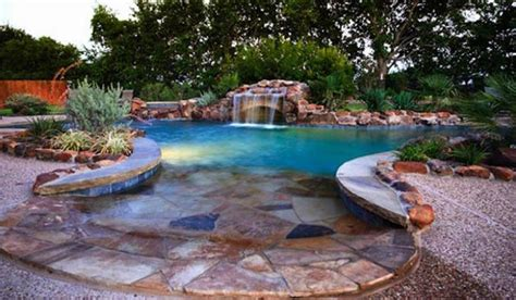 outdoor pools custom swimming pools and spa outdoor pool ideas