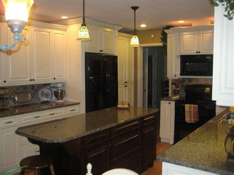 white and black kitchen island with cherner counter stools kitchen paint colors with cream cabinets inspiration