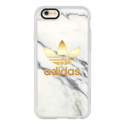 Adidas Marble Iphone All Hp adidas gold white marble iphone 7 iphone 7 plus iphone 40 liked on