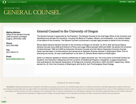 General Counsel Resume by Uo General Counsel Stops Pleading The Fifth On Dearinger