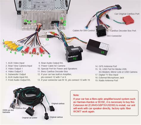 mercedes aux cable harness mercedes free engine image