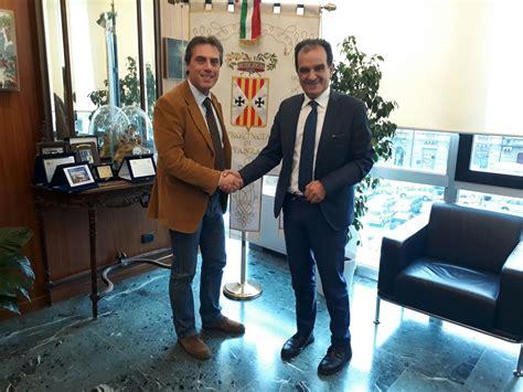 nicola fiorita il presidente della provincia di catanzaro incontra nicola