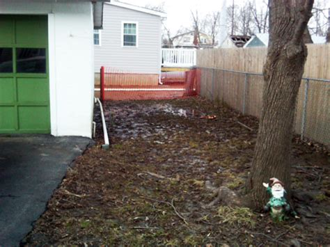 how to fix drainage problem in backyard how to fix a backyard drainage problem outdoor furniture