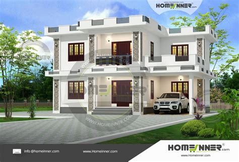 Double Storey House Plans In Kerala   Joy Studio Design