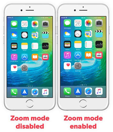 guide scale up to the iphone 6 plus with zoom mode ios 9 tapsmart