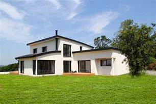 maison contemporaine 224 toiture cintr 233 e