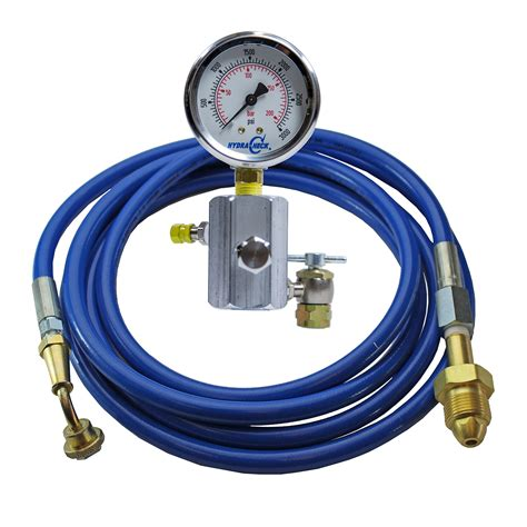 Kenmaster Tool Kit N2 tobul accumulator nitrogen charging valve and hose assemblies hydracheck