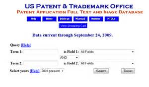 right place to search us patent and trademark